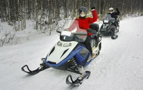 snowmobiles and atvs